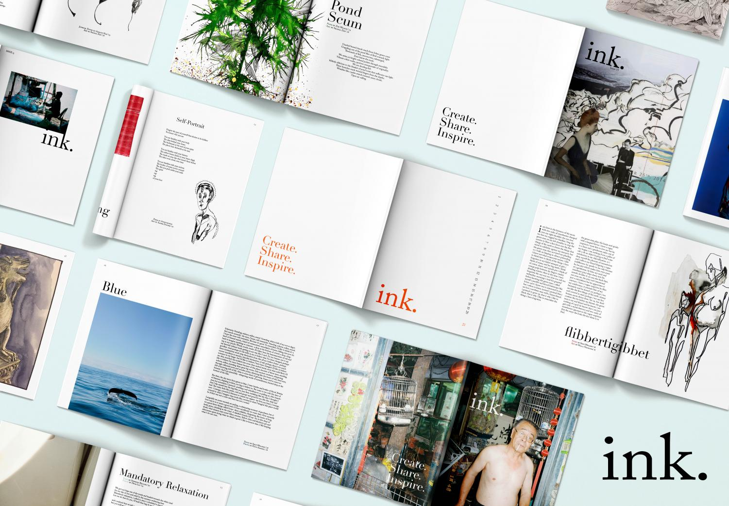 A compilation of ink.'s most recent issues.