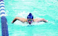 Girls Varsity Swimming Makes Waves Before Founders
