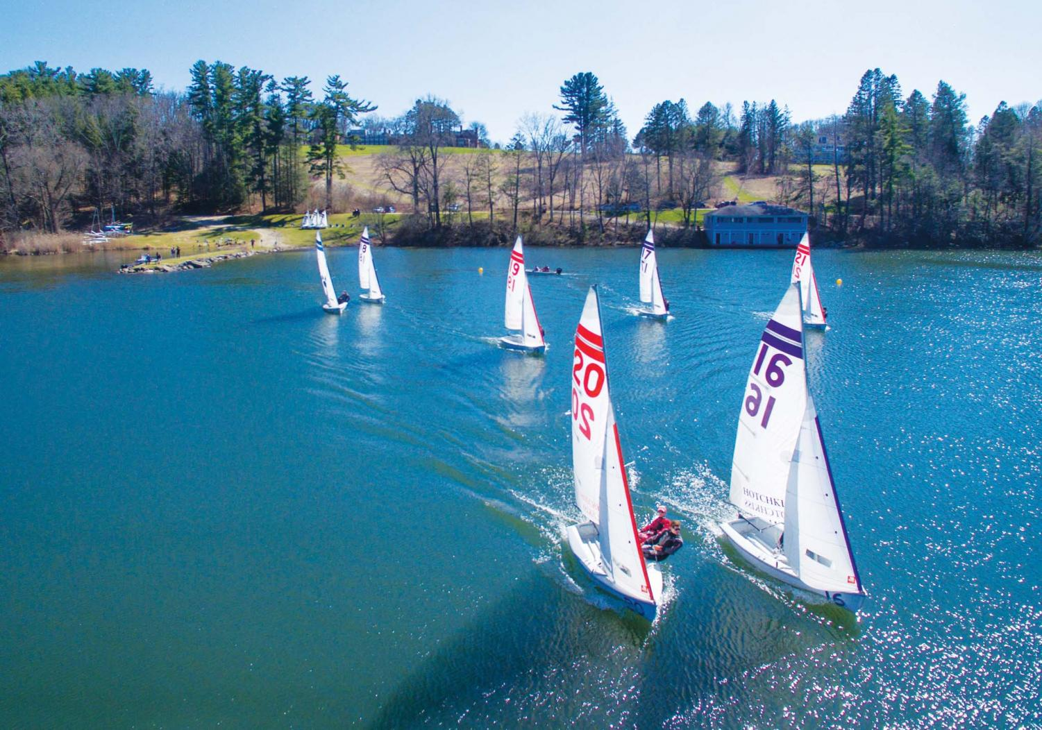 Sailing Rigs Up  For New Season