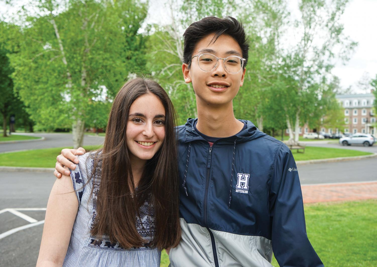 Rising Lower Mid Class Presidents: Jerry Qiao '22 and Sydney Goldstein '22