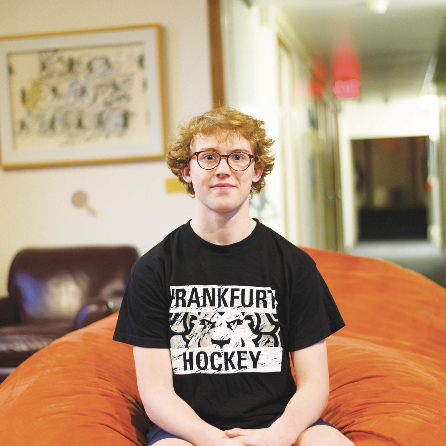 Elijah Stone '20 started The Hotchkiss Song Project at the start of this school year.