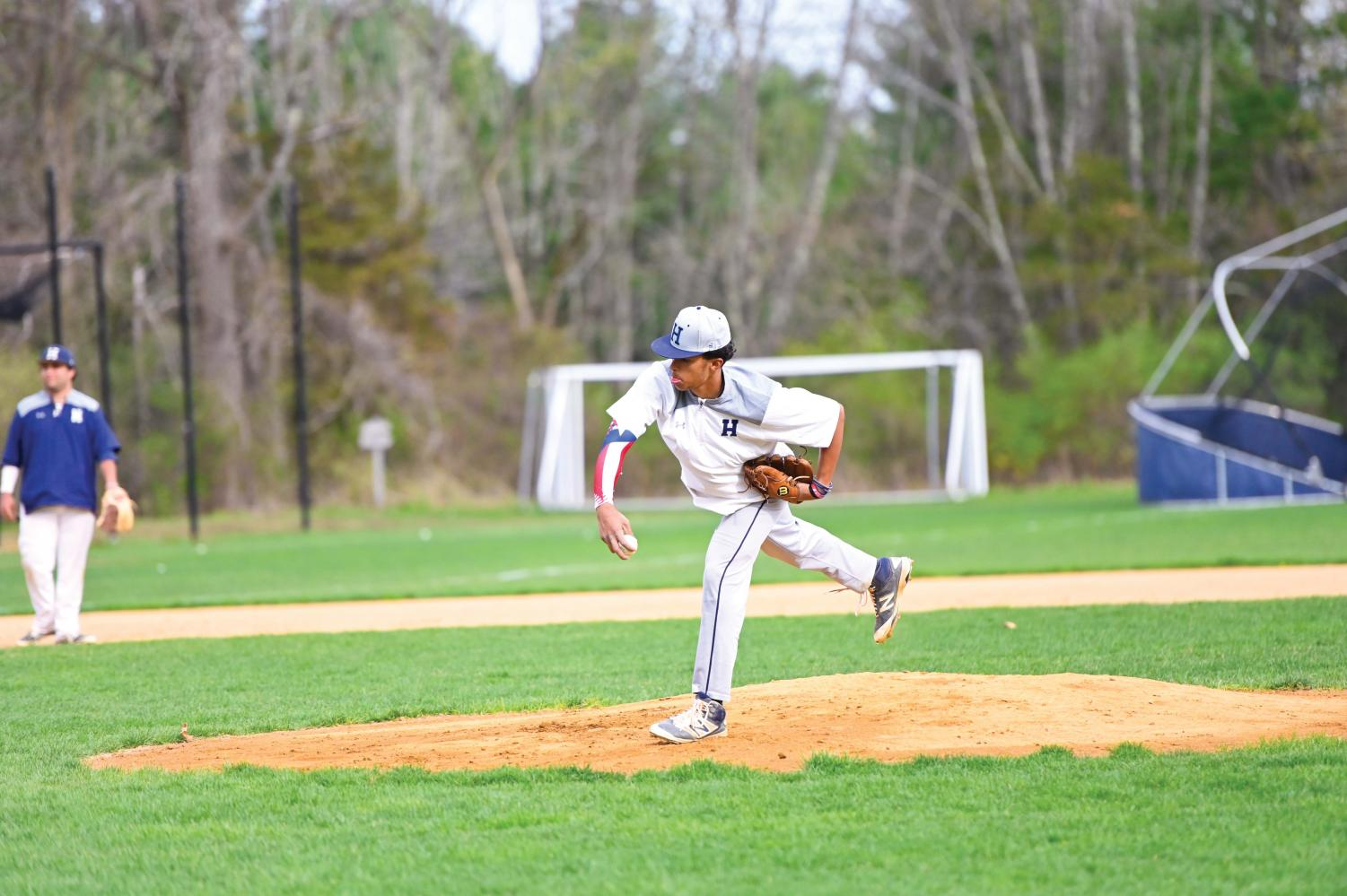 Carlos Martinez '22 pitched a complete game against K-O.