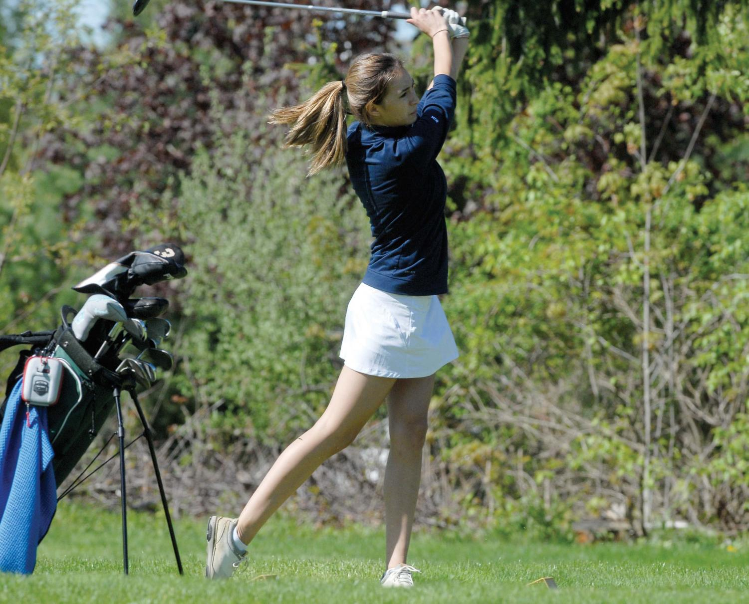 Sami Thomas '19 started golfing at the age of 12.