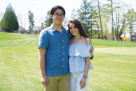 All-School Presidents Daniel Pai '19 and Caitlin Reilly '19 prepare to say goodbye to their presidency.