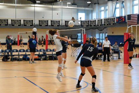 Varsity Volleyball Ups the Intensity