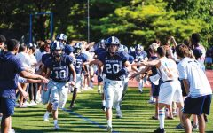 Win Against Deerfield  Energizes Varsity Football