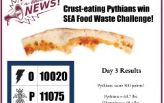 Students Compete to  Reduce Food Waste