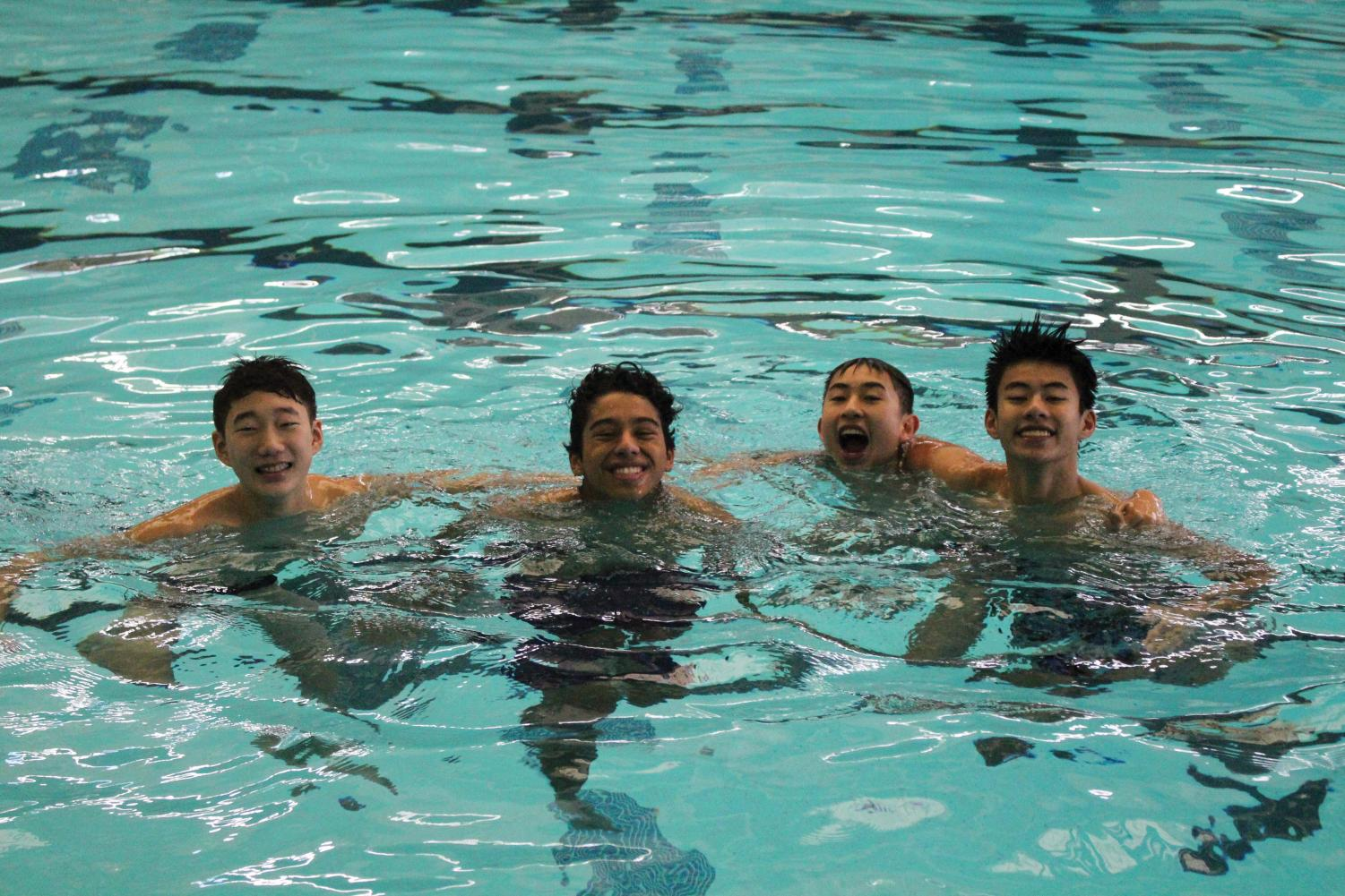Last Sunday, 247 swimmers showed up to the Swimathon, setting a new record.