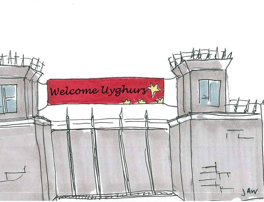 Uyghur Camps  Violate Human Rights