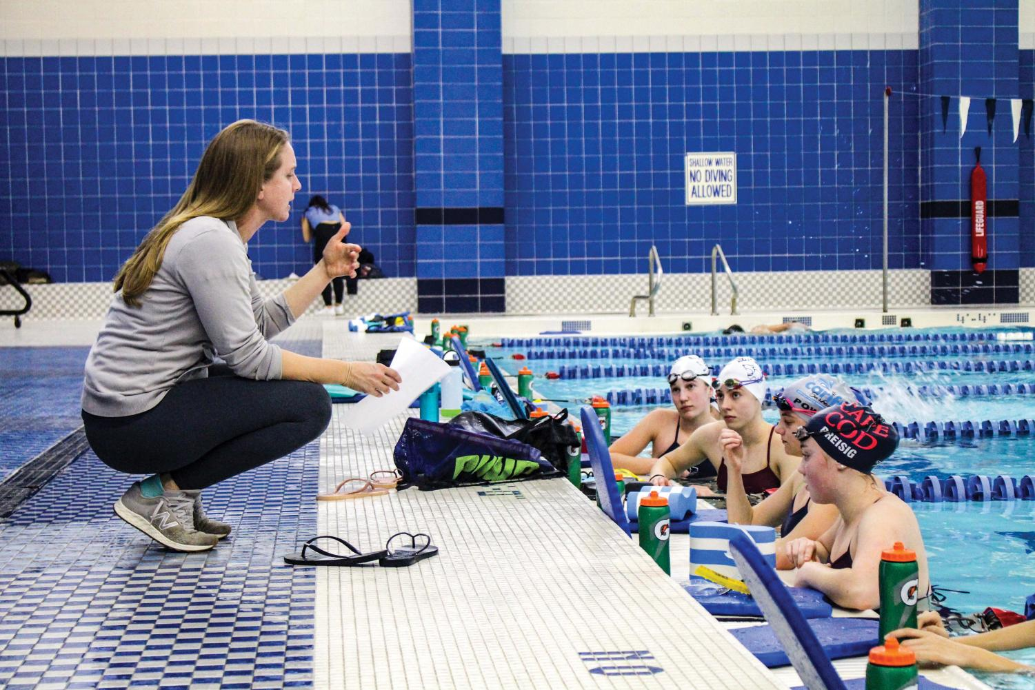 Coach Michelle Repass has been the Head Coach of Girls Swimming and Diving for the past five years.