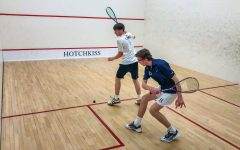 Boys Varsity Squash Preps for Challenges