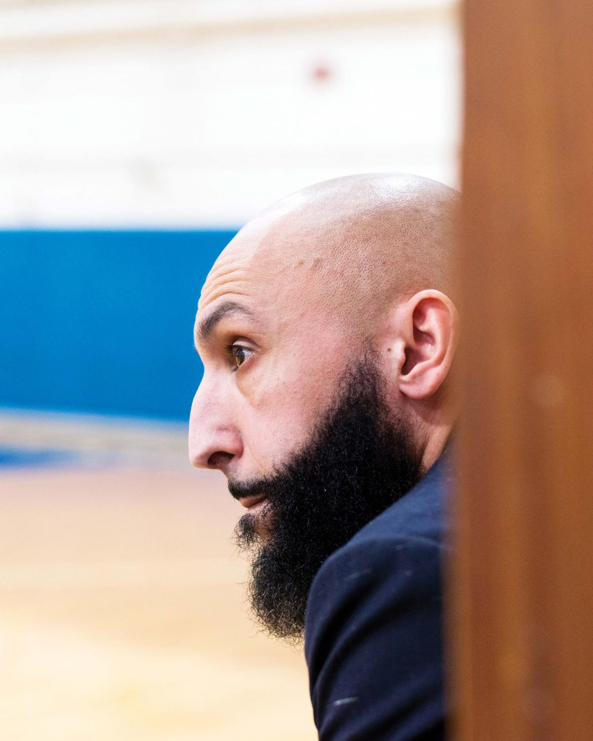 Coach Talhaoui has seen his most successful season yet, boasting a 14-2 record this year as of Tuesday.