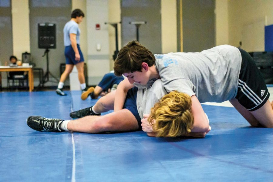Young Wrestling Team Enters Postseason