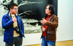 Chinese Photographer Visits Campus