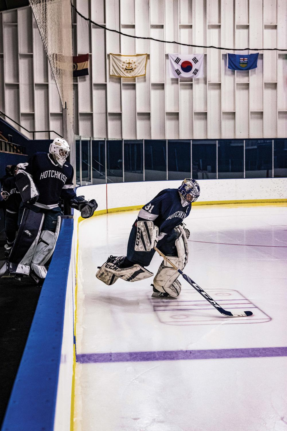 Henry Wilder '20 posted 35 saves in the Boys Varsity Hockey team's most recent game.