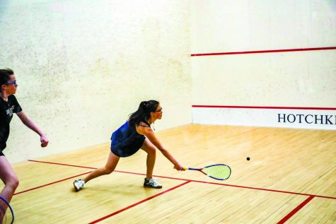Girls Varsity Squash Victorious at New Englands