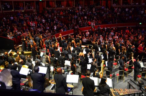 Chineke! Orchestra is a professional orchestra made up of black and minority ethnic musicians that provides career opportunities for musicians of underrepresented ethnicity.
