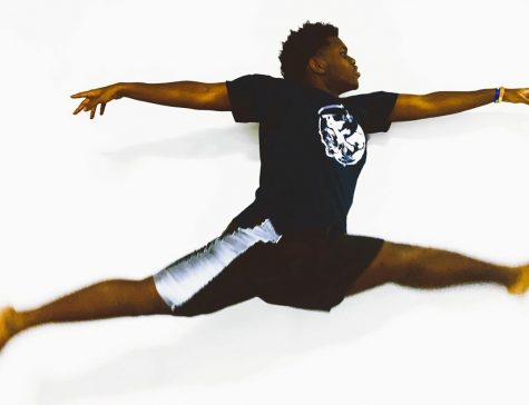 Participating in the Dance Company has been a goal of Brown's since his Upper Mid year.