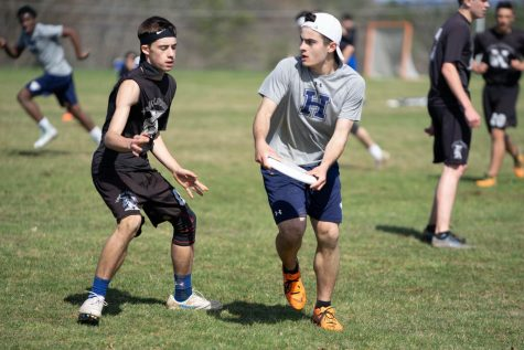 David Vega '20 is a four-year member of the Co-ed Varsity Ultimate Frisbee Team.