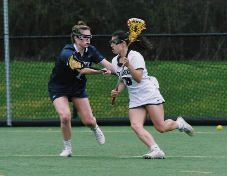 Delaney Hayes '20 is a three-year senior and co-captain for Girls Varsity Lacrosse and Girls Varsity Soccer.