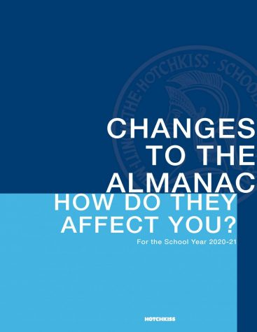 Several changes were made to the 2020-21 Almanac.