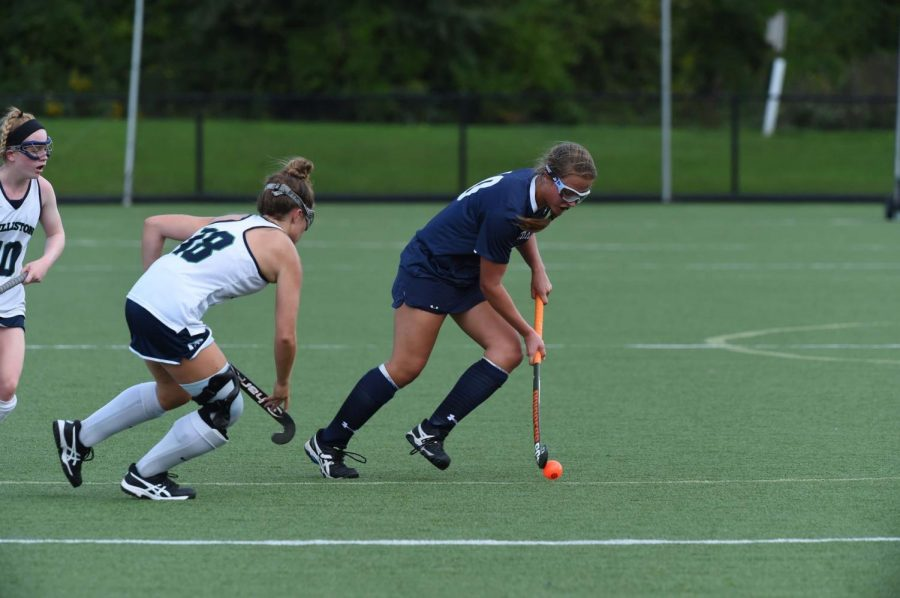 Meagan Campbell '21 has played field hockey for seven years.