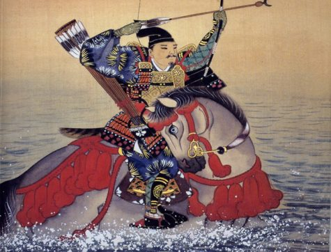 Nasu no Yoichi, a Minamoto Warrior, managed to shoot a fan that was placed on top of an enemy ship's mast during the Genpei War.
