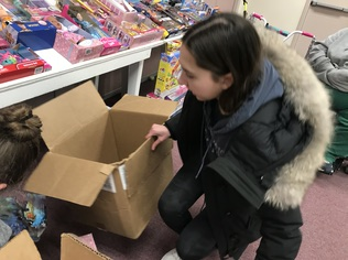 St. Luke's Society organizes a toy drive for the local community every year. This year's drive was held virtually.
