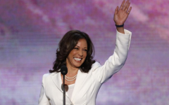 Harris wore white during her victory speech, a reference to the women's suffrage movement as a symbol of moral purity.