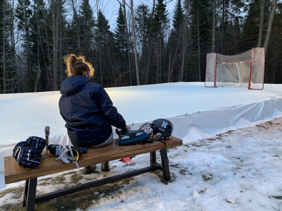 Bullock+and+her+family+built+an+ice+rink+in+her+backyard+so+she+could+practice+hockey.