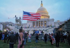 Rioters invaded the Capitol building and occupied it for four hours on January 6.