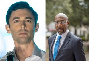 Ossoff and Warnock won the Georgia runoff elections, giving the Democrats control of the Senate.