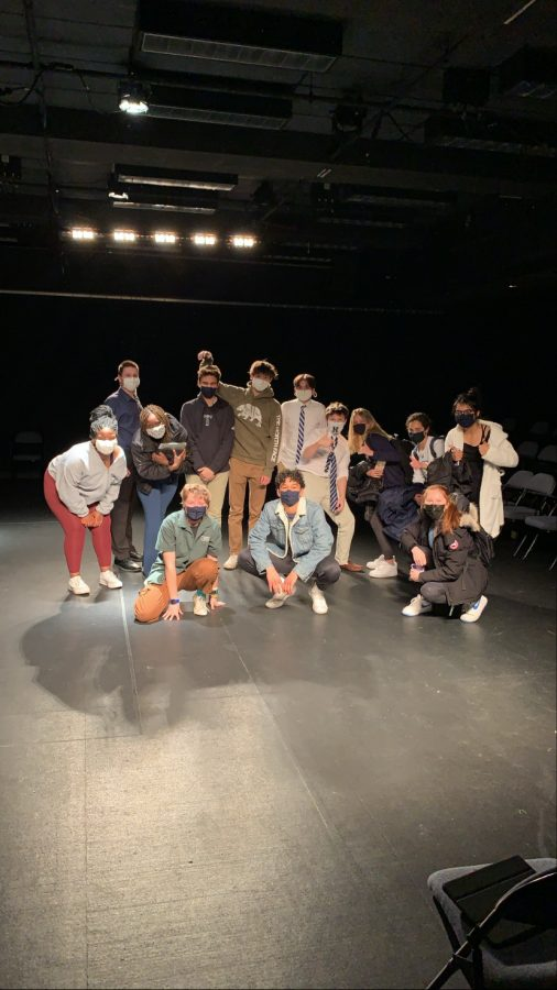 Lower Mid Theatre Students Perform in Black Box