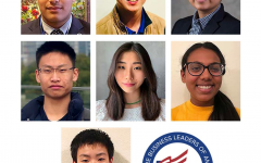 Award winners from top left: Rahul Kalavagunta '22, Jacob Chui '21, Arhan Chhabra '22, Kenny Zhang '22, Ilene Park '22,  Nithya Chundi '23, Jason Shan '23